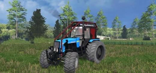 MTZ-1221 Belarus Forest