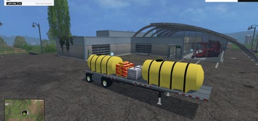 Manac Flatbed Fertilizer Trailer