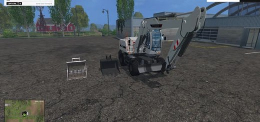 Terex TW 170 Excavator