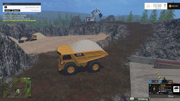 CAT 797B Dumper