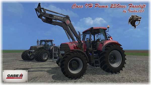 Case Puma 230 cvx FL Pack Facelift