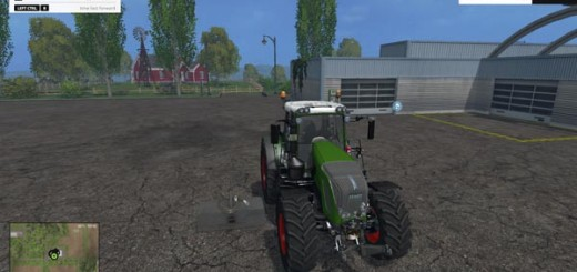 Fendt 936 Vario SCR With Weight