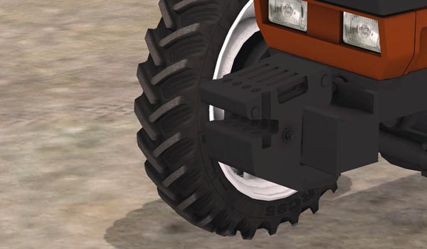 Fiatagri weights v 1.0