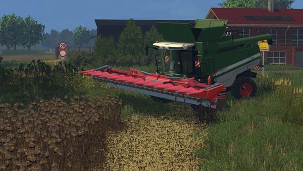 Geringhoff maize header