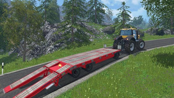 Schwarzmuller low loader v 1.0