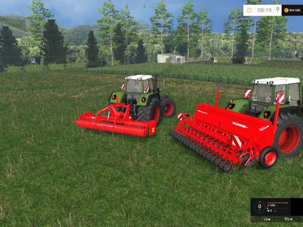 Seed and cultivator Kuhn