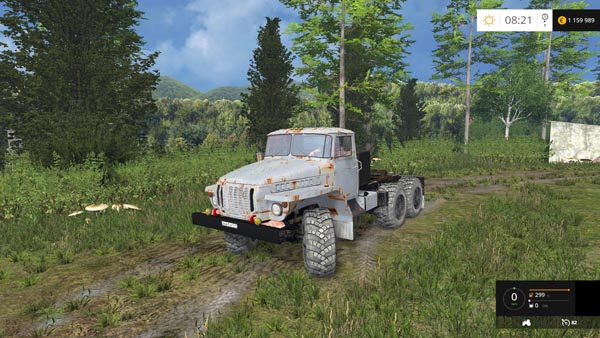 Ural 4320 Rusty