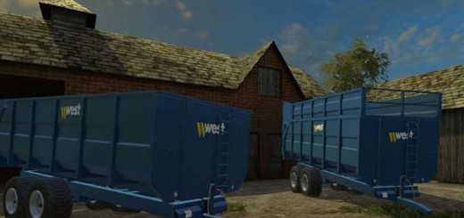 WEST 16 TONNE TRAILER