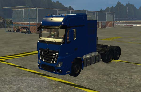 AR 14 heavy-duty Actros