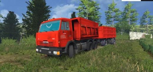 KamAZ 65115 and NEFAZ 8460