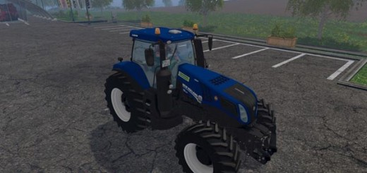 New Holland T8 420 BluePower