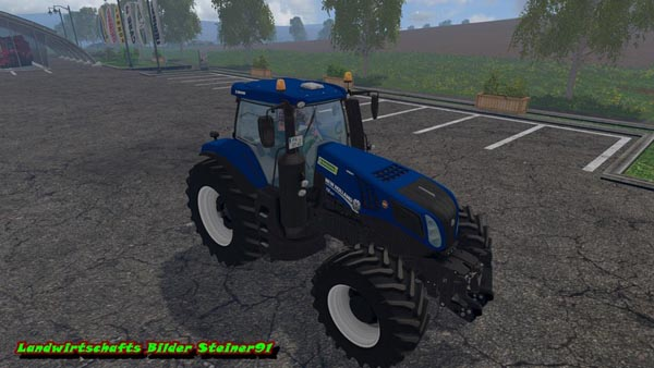 New Holland T8 420 BluePower