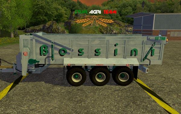 SAT Bossini SG200 DU 26.000 LT