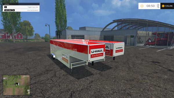Uhaul Semi Trailers
